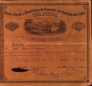 stock certificate image